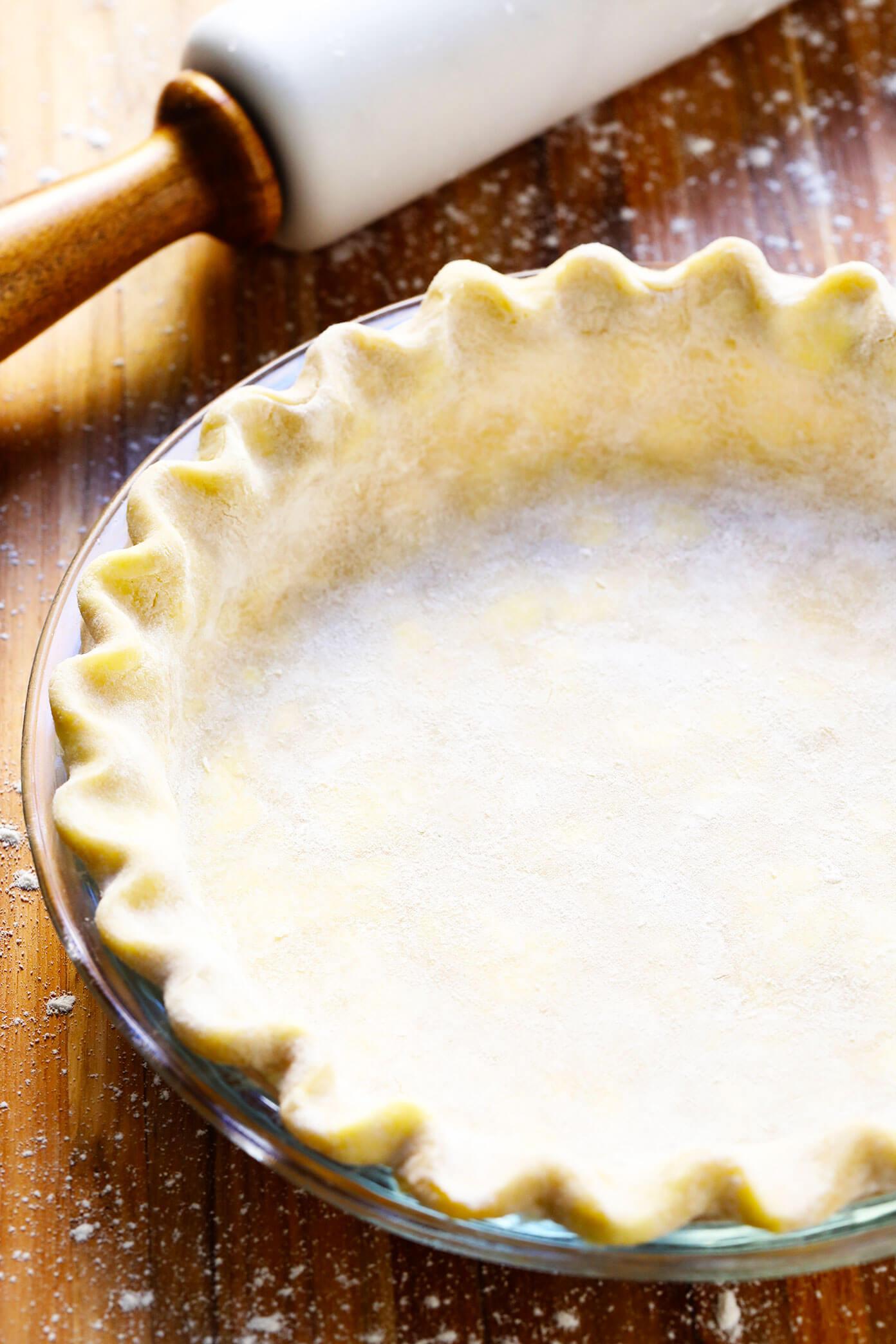Pie Crust for Pumpkin Pie Recipe
