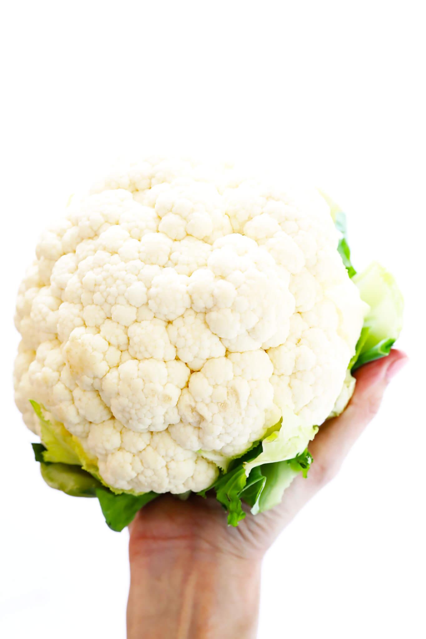 Fresh Cauliflower for Curry