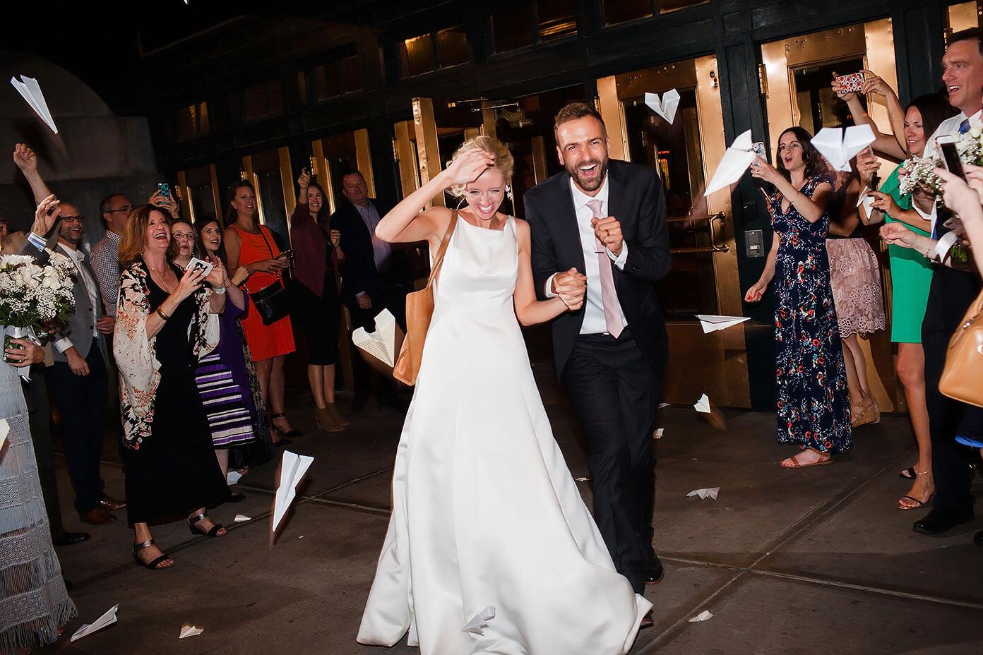 Barclay and Ali Martin Union Station Kansas City Wedding