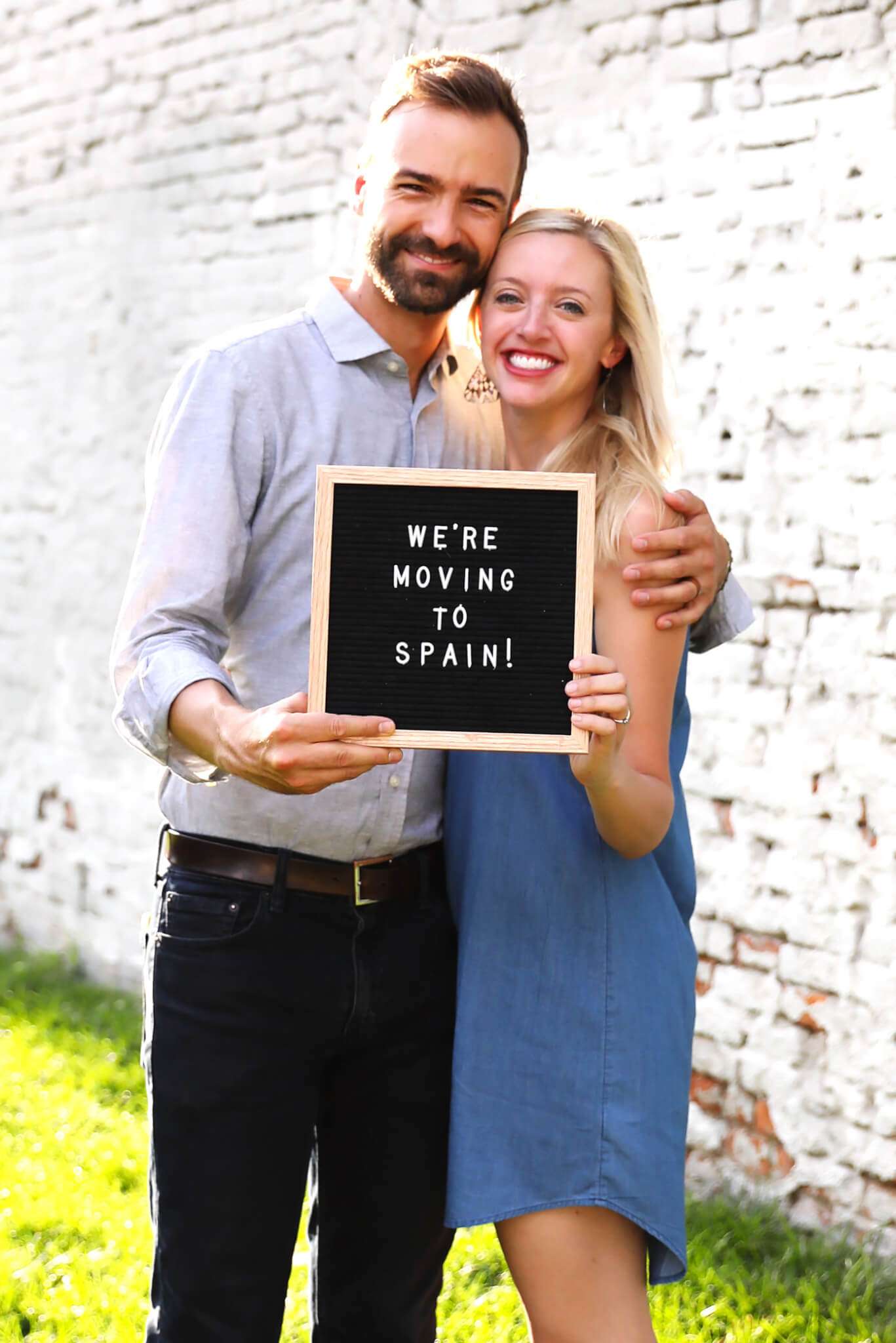 Barclay and Ali Martin Moving To Spain