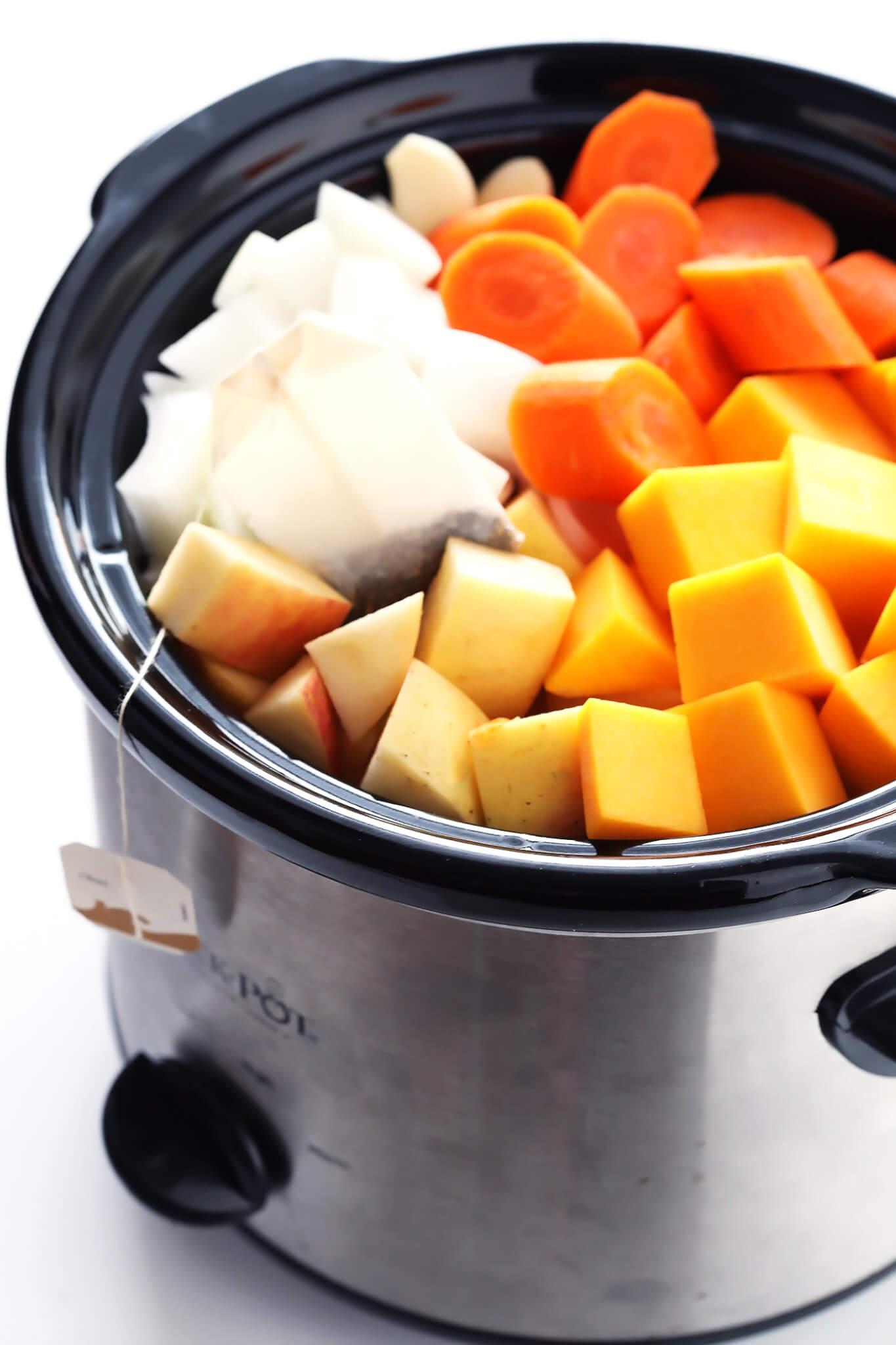Chai Butternut Squash Soup Recipe Ingredients