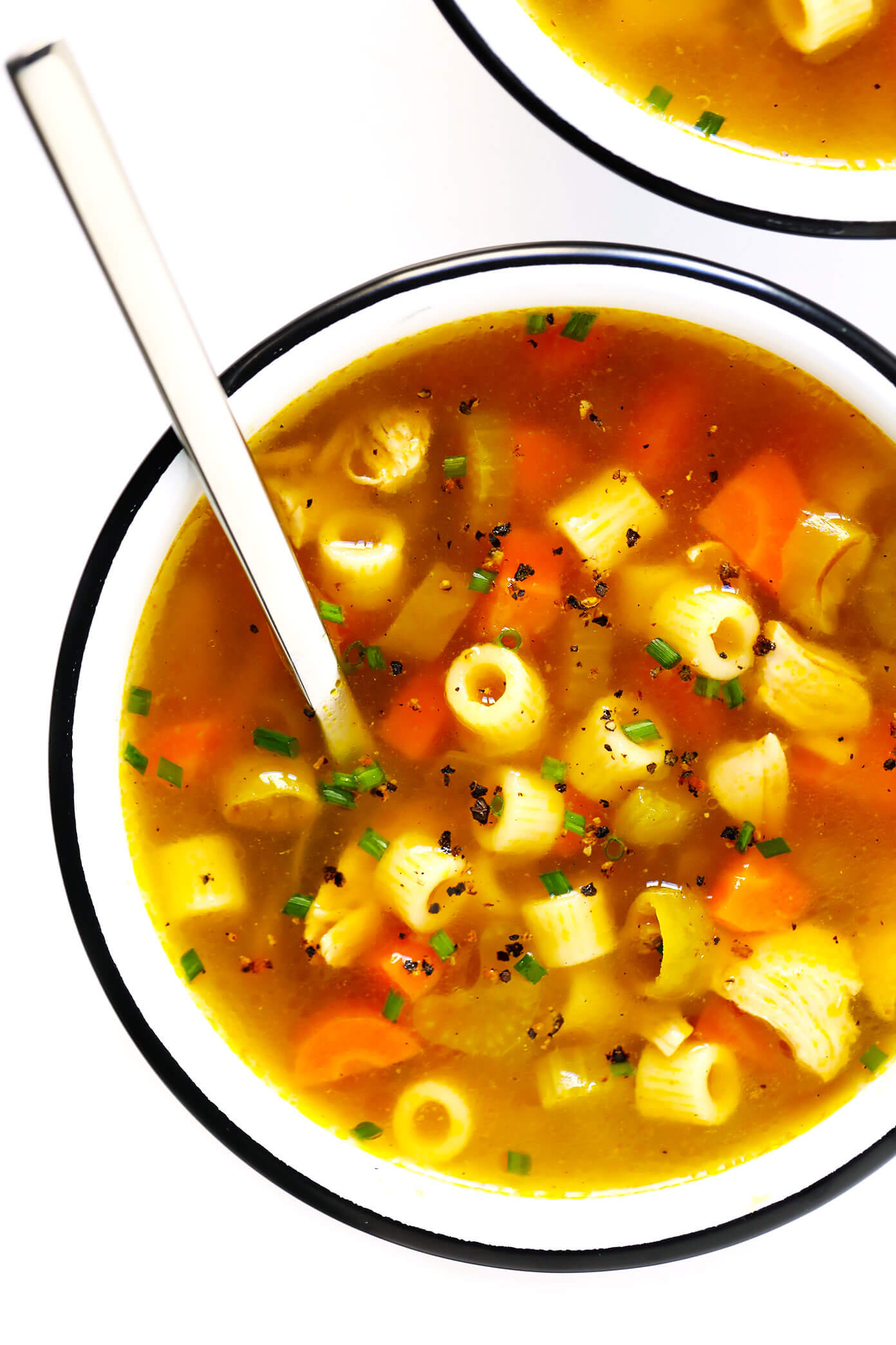 Pepperoncini Chicken Noodle Soup