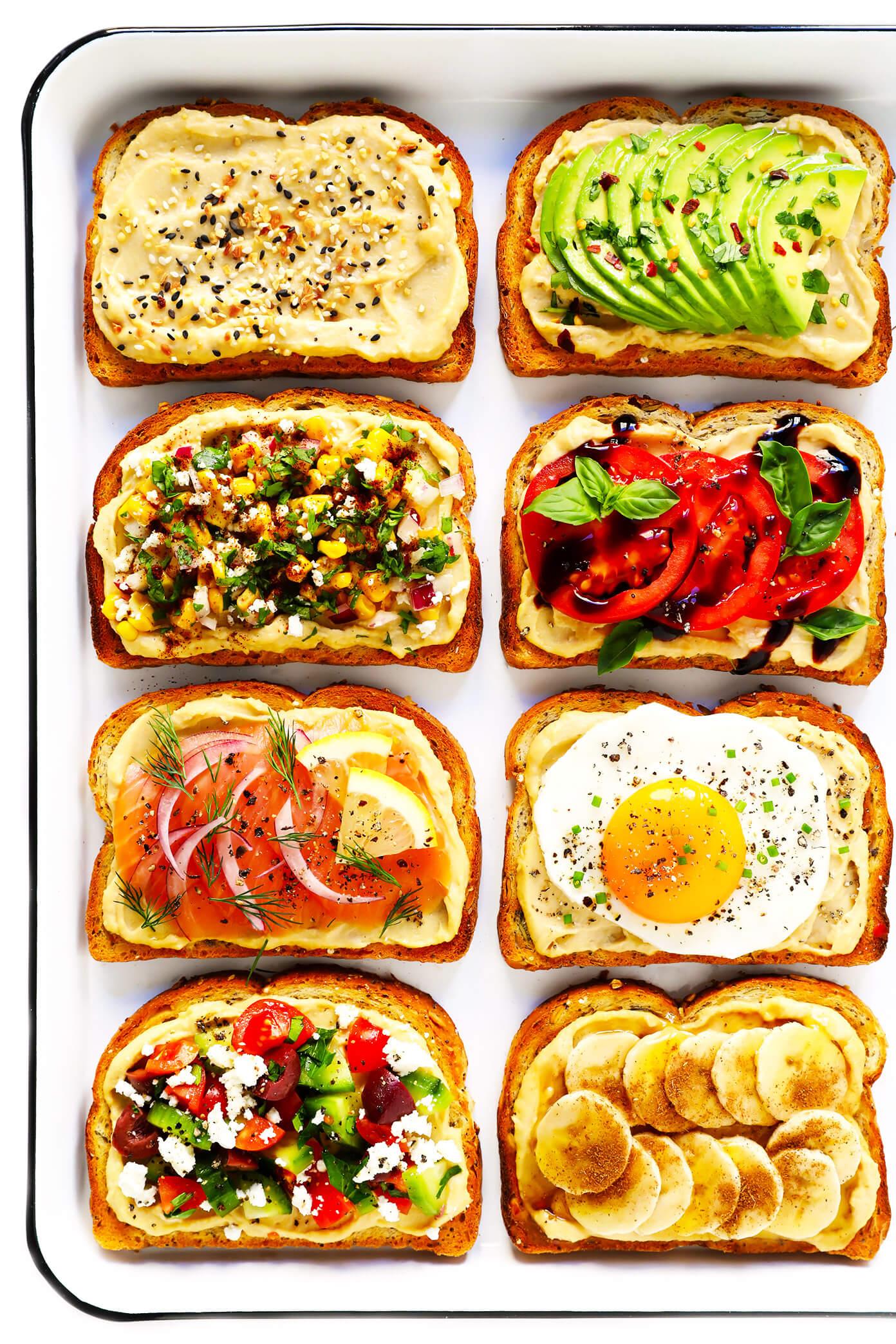 Hummus Toast