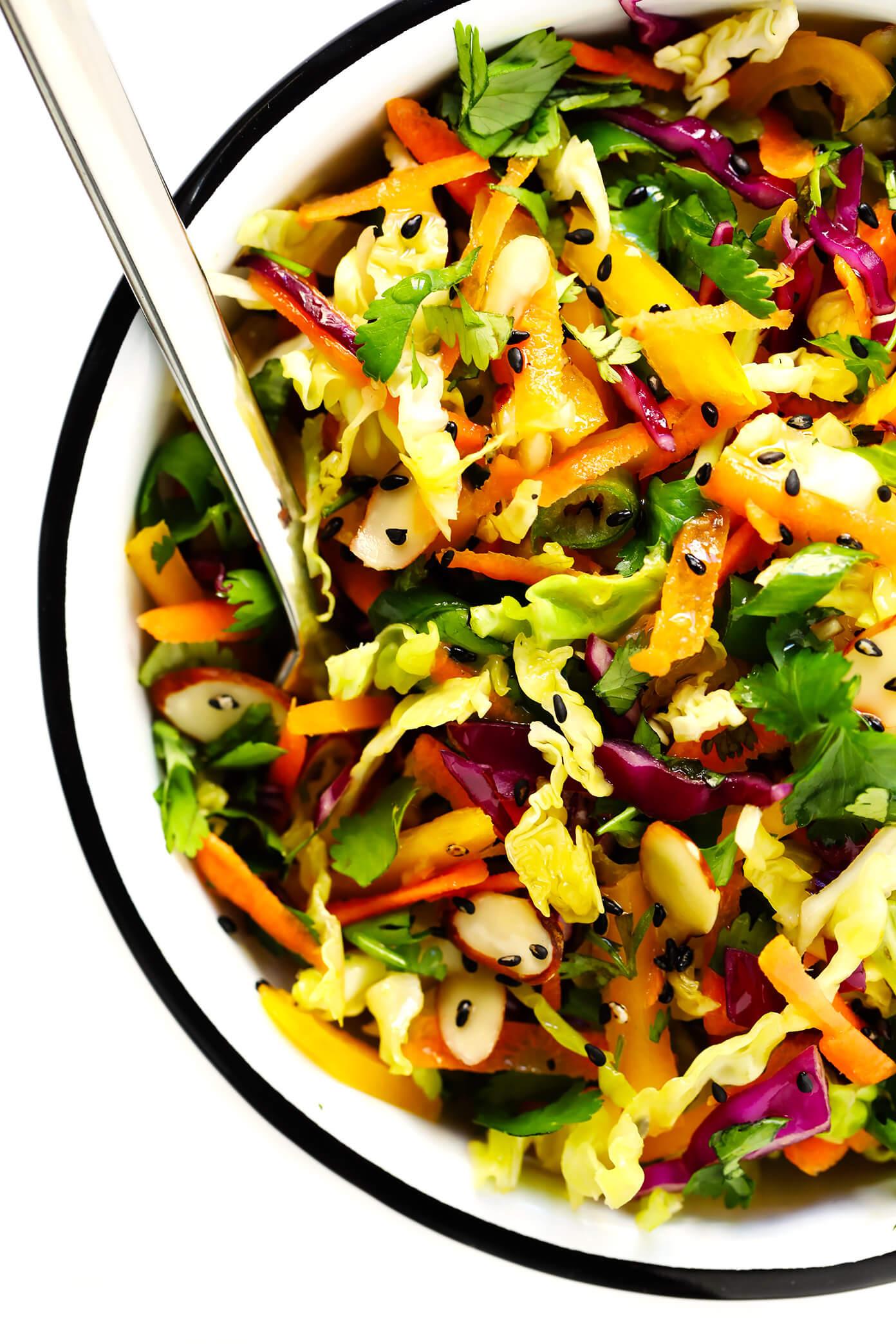 Easy Asian Salad Recipe