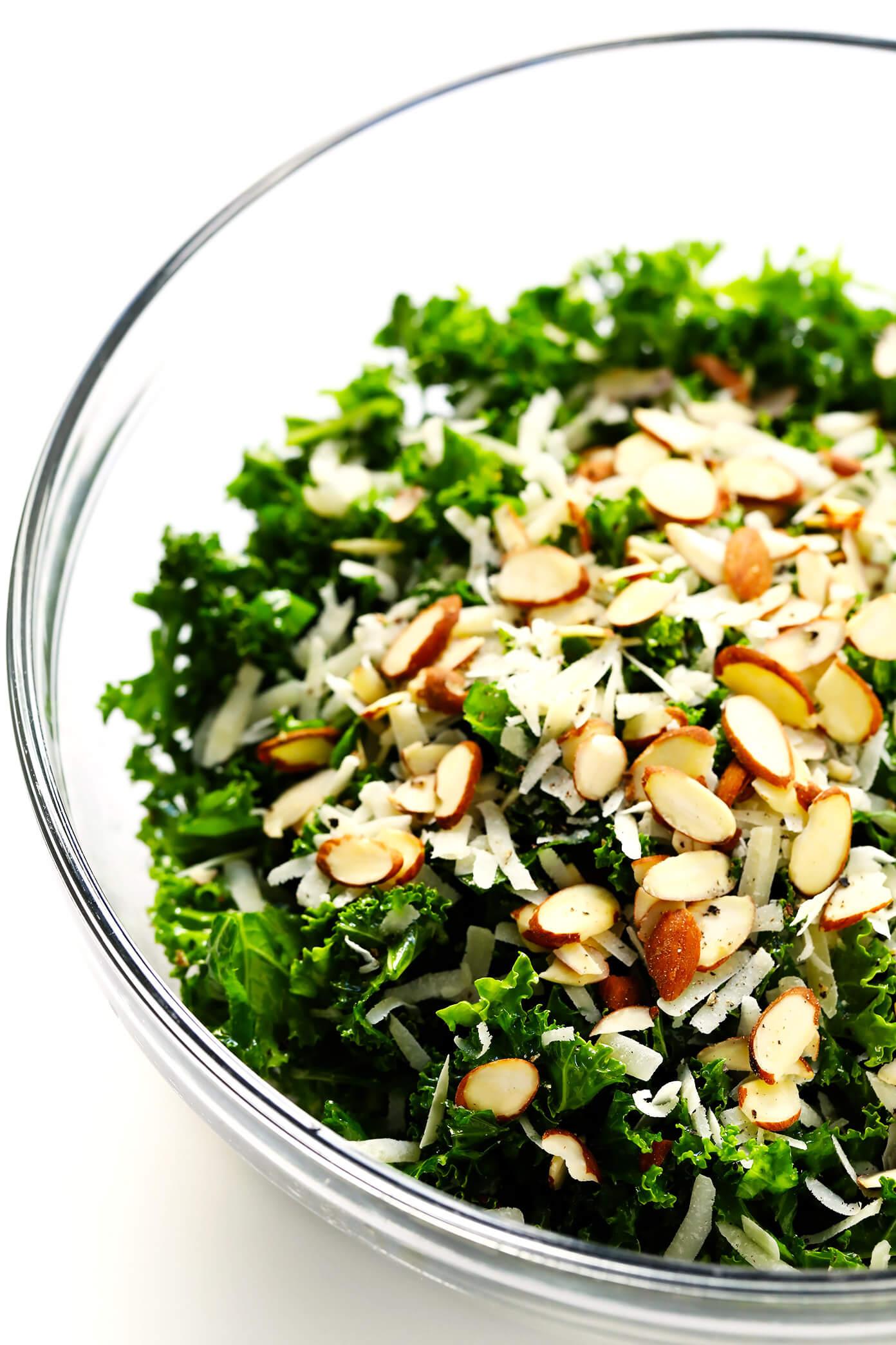 How To Make Kale Salad