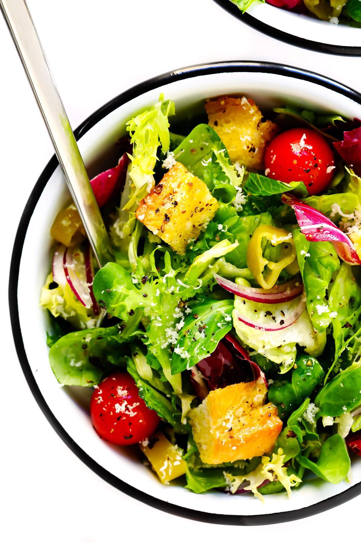 Copycat Olive Garden Salad Recipe