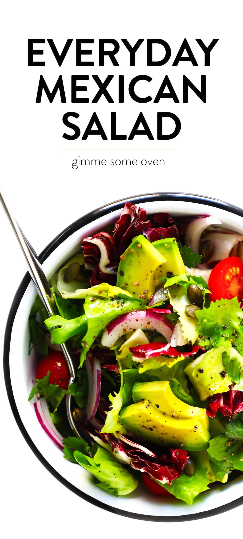 Everyday Mexican Salad Recipe