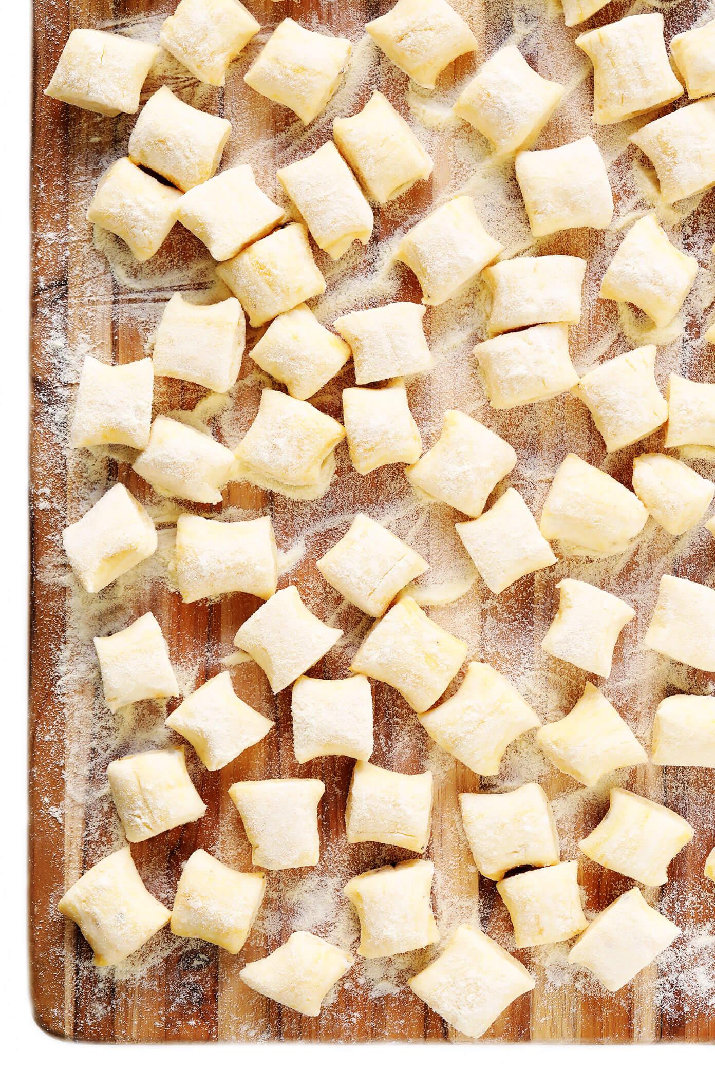 Easy gnocchi recipe