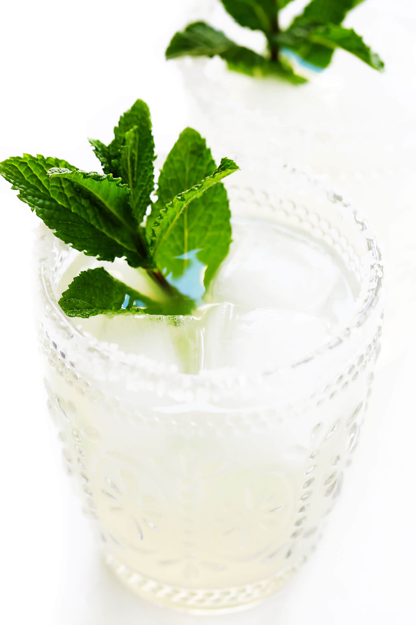 Fresh Mint Margaritas