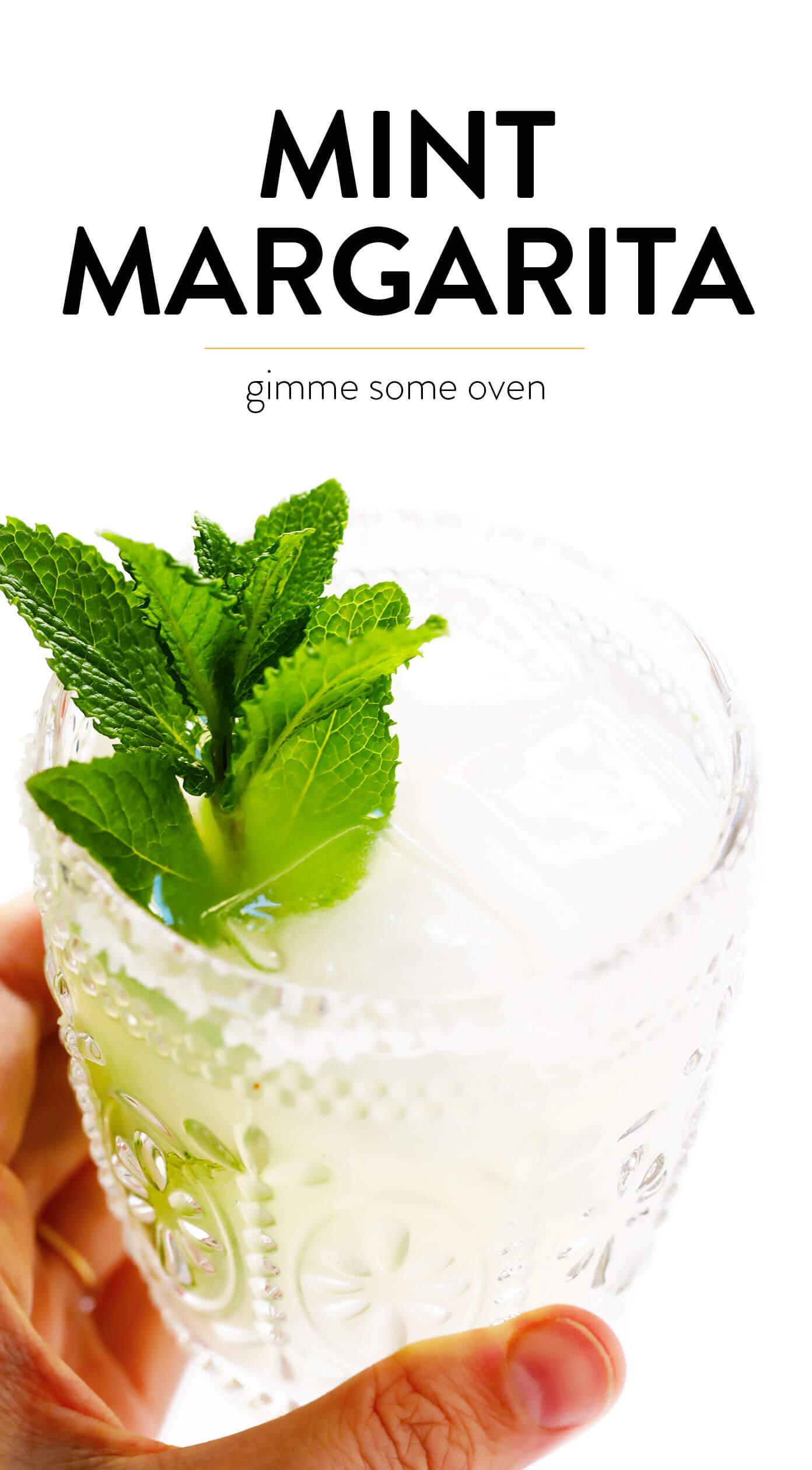 Fresh Mint Margarita Recipe
