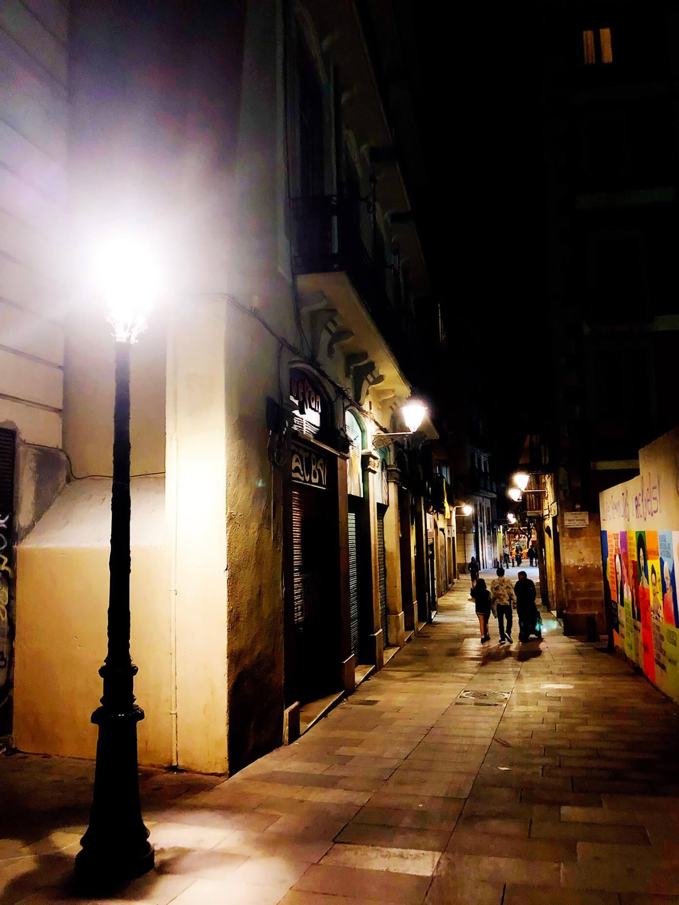 El Born at night