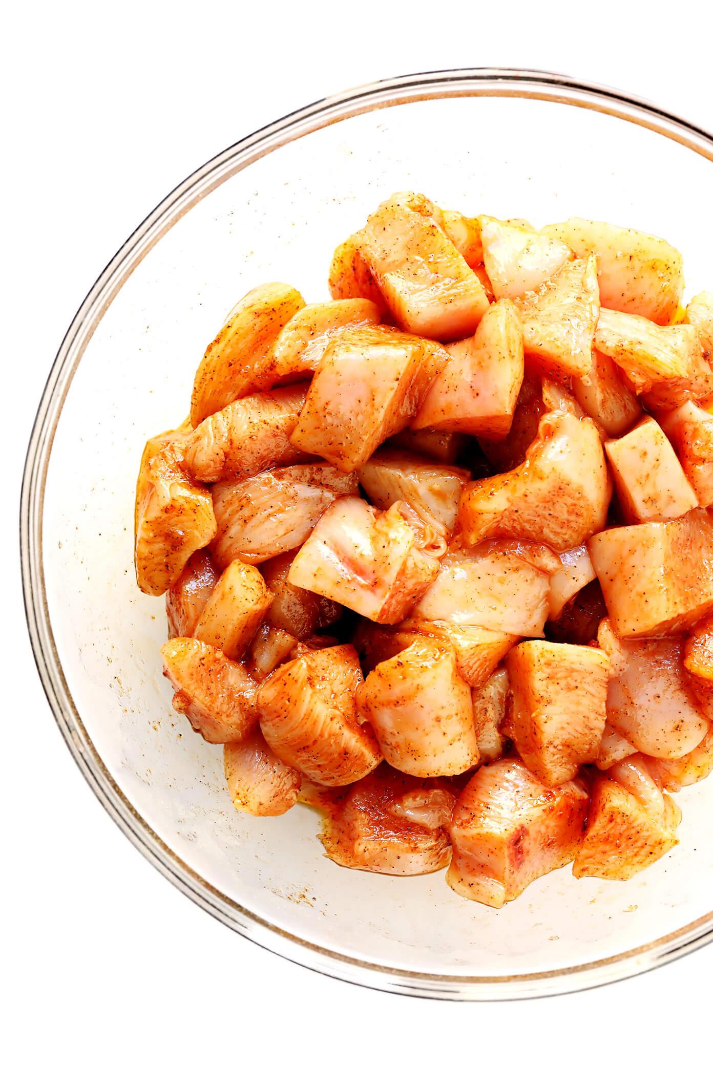 Chicken Kabob Ingredients