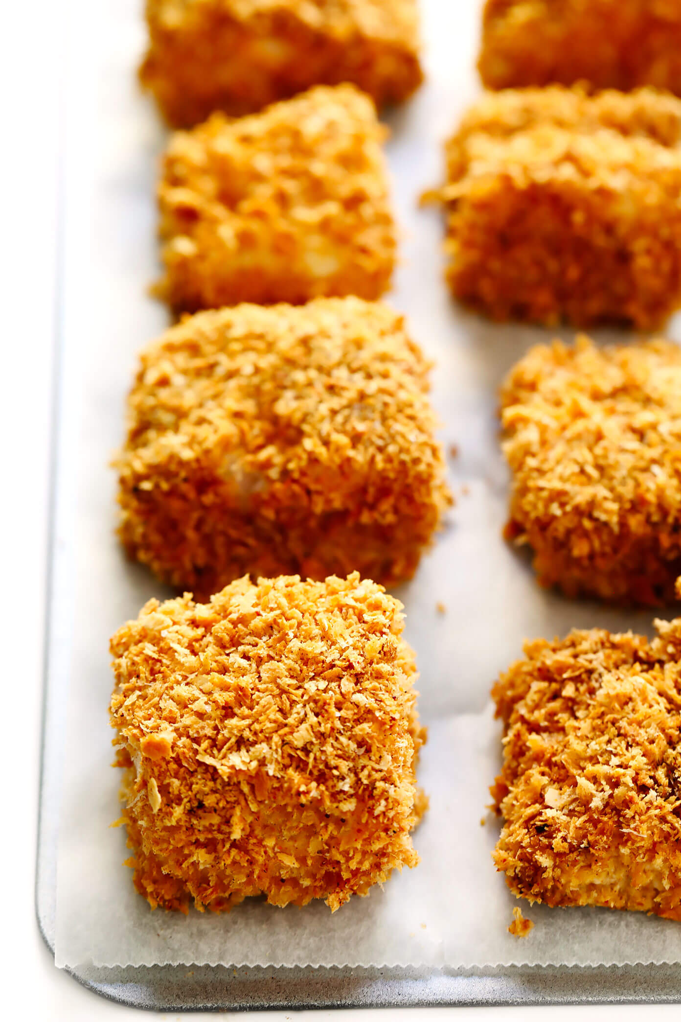 Baked Panko-Crusted Cod for Fish Tacos