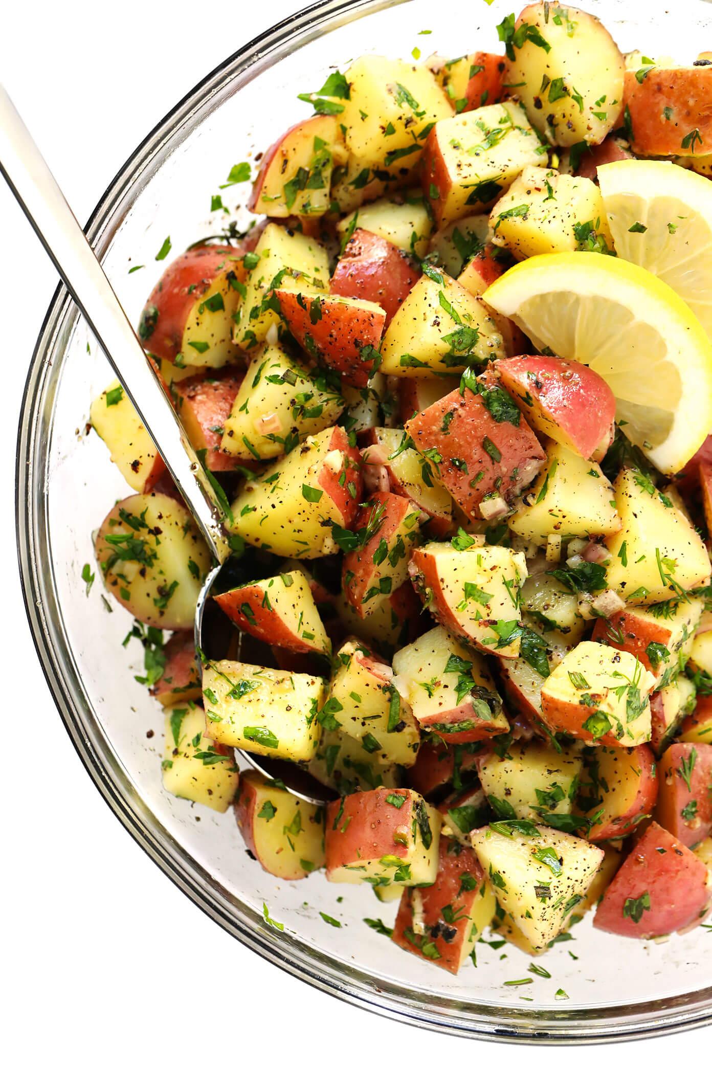 How To Make Potato Salad without Mayo