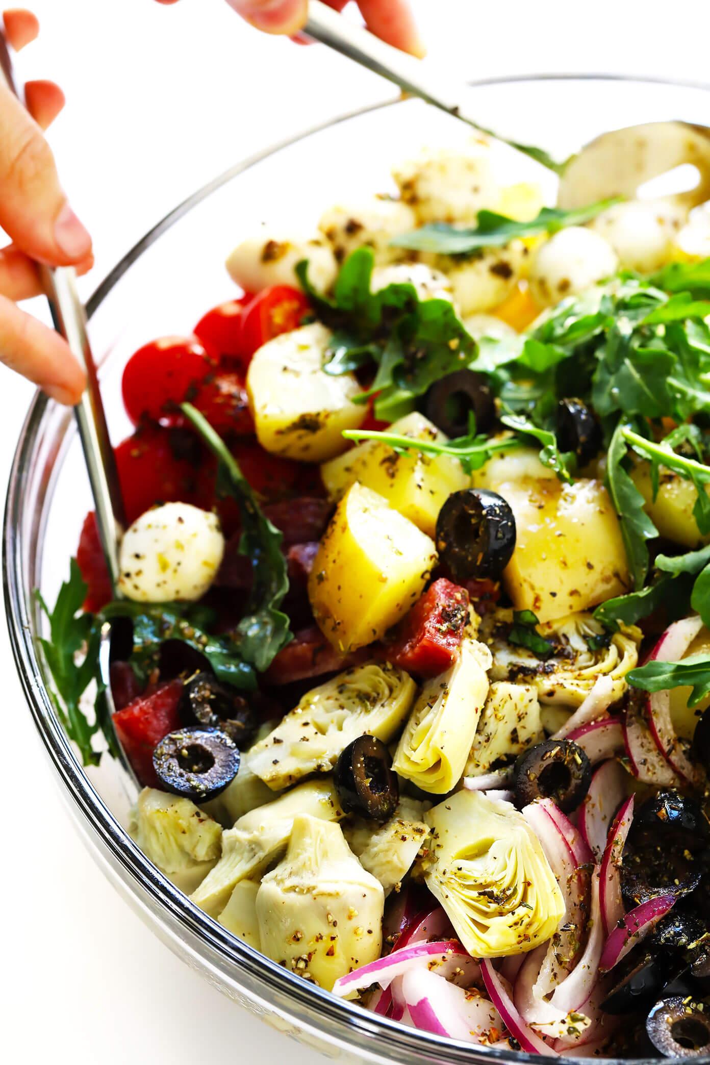 How To Make Italian Potato Salad
