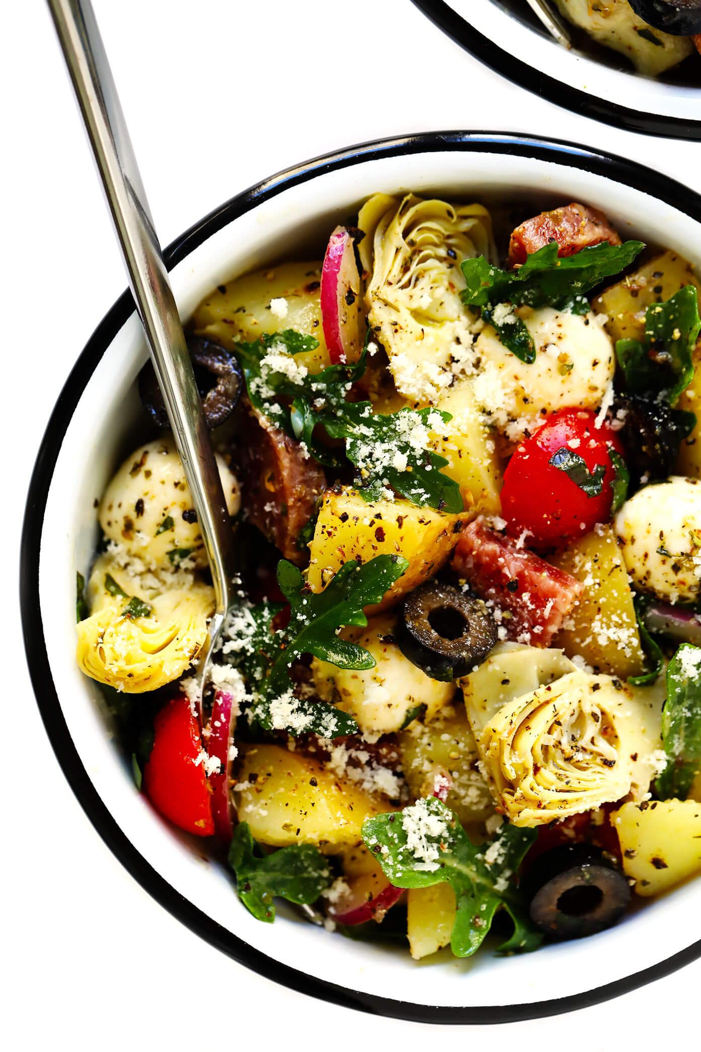 Potato Salad with Italian Dressing