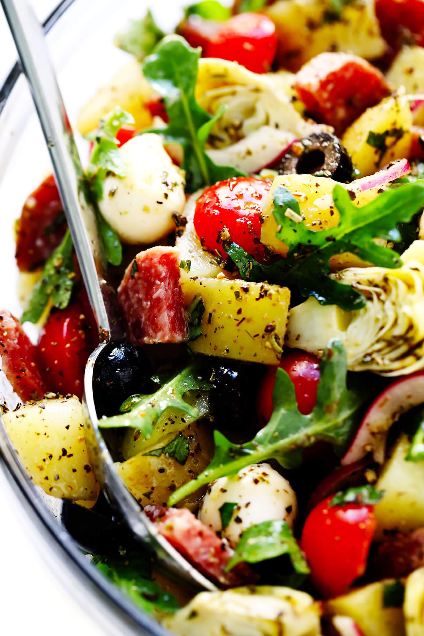 The Best Italian Potato Salad Recipe