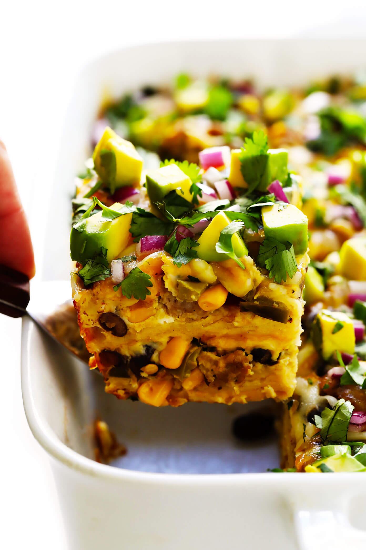 Amazing Mexican Breakfast Casserole