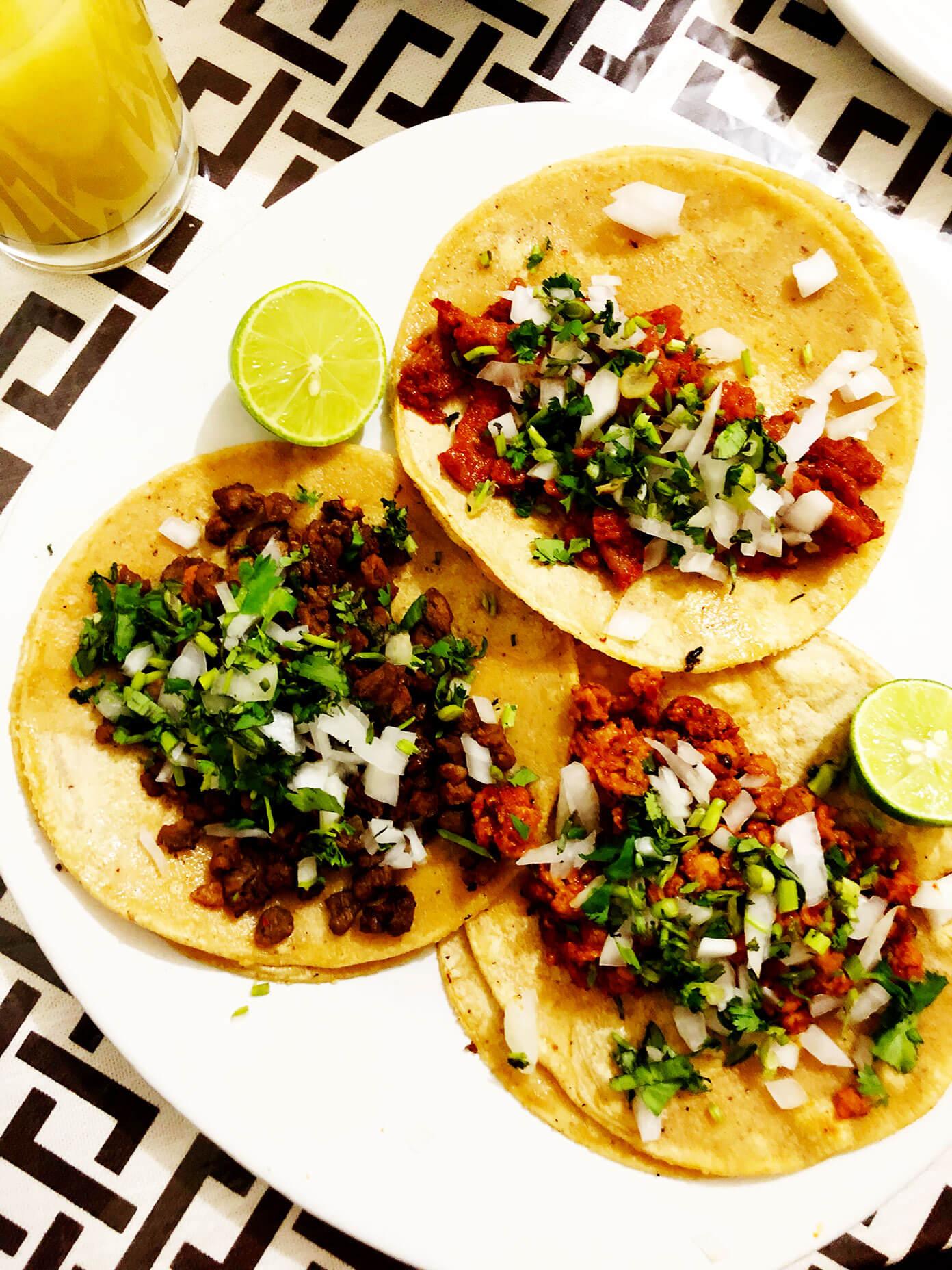 Vegan Tacos | Ali's Guide To Mexico City