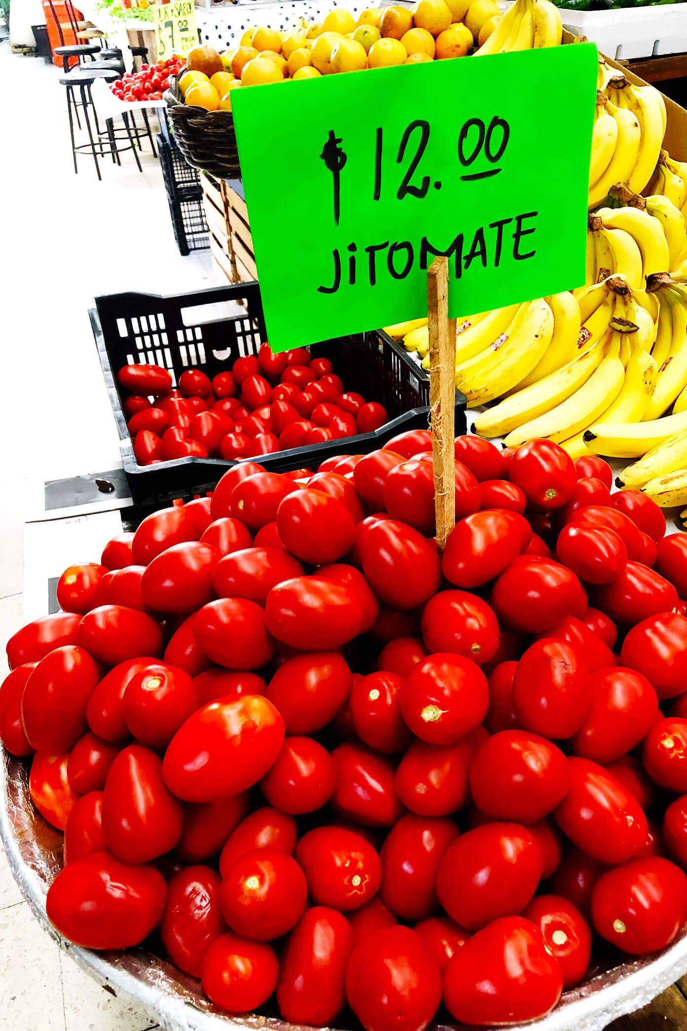 Mexico City Market Jitomates