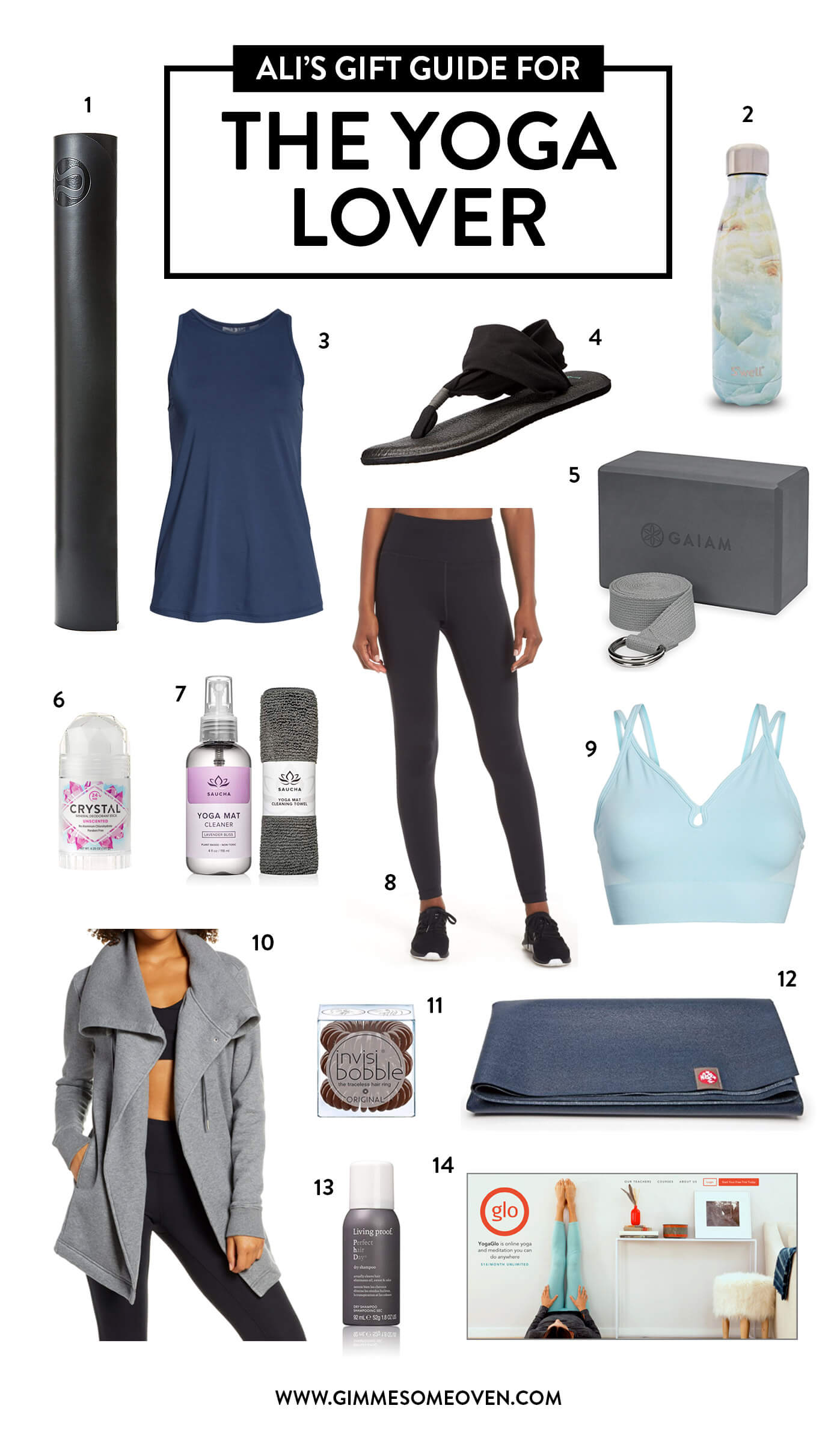 Gift Guide For The Yoga Lover
