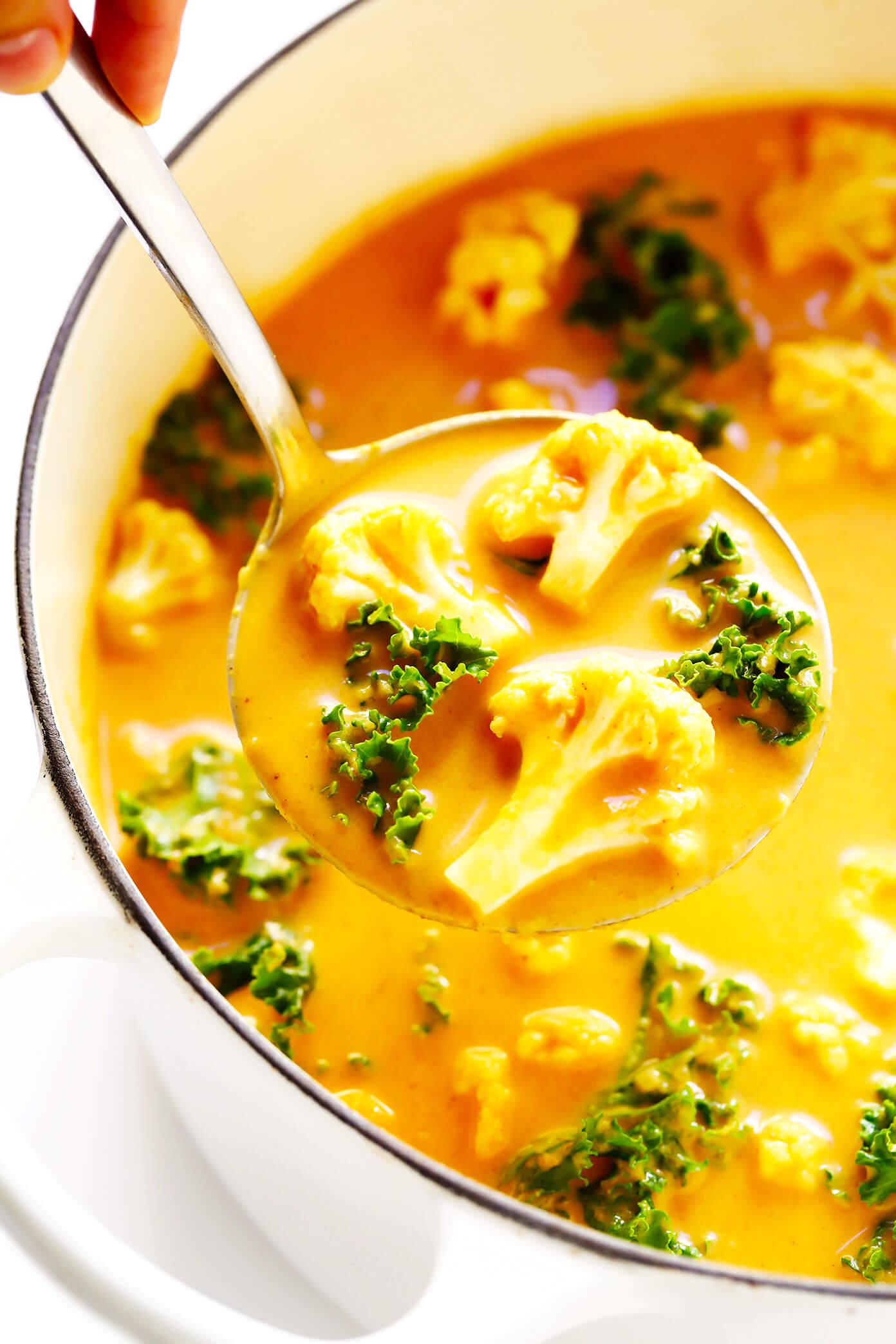 Cozy Cauliflower Curry Recipe