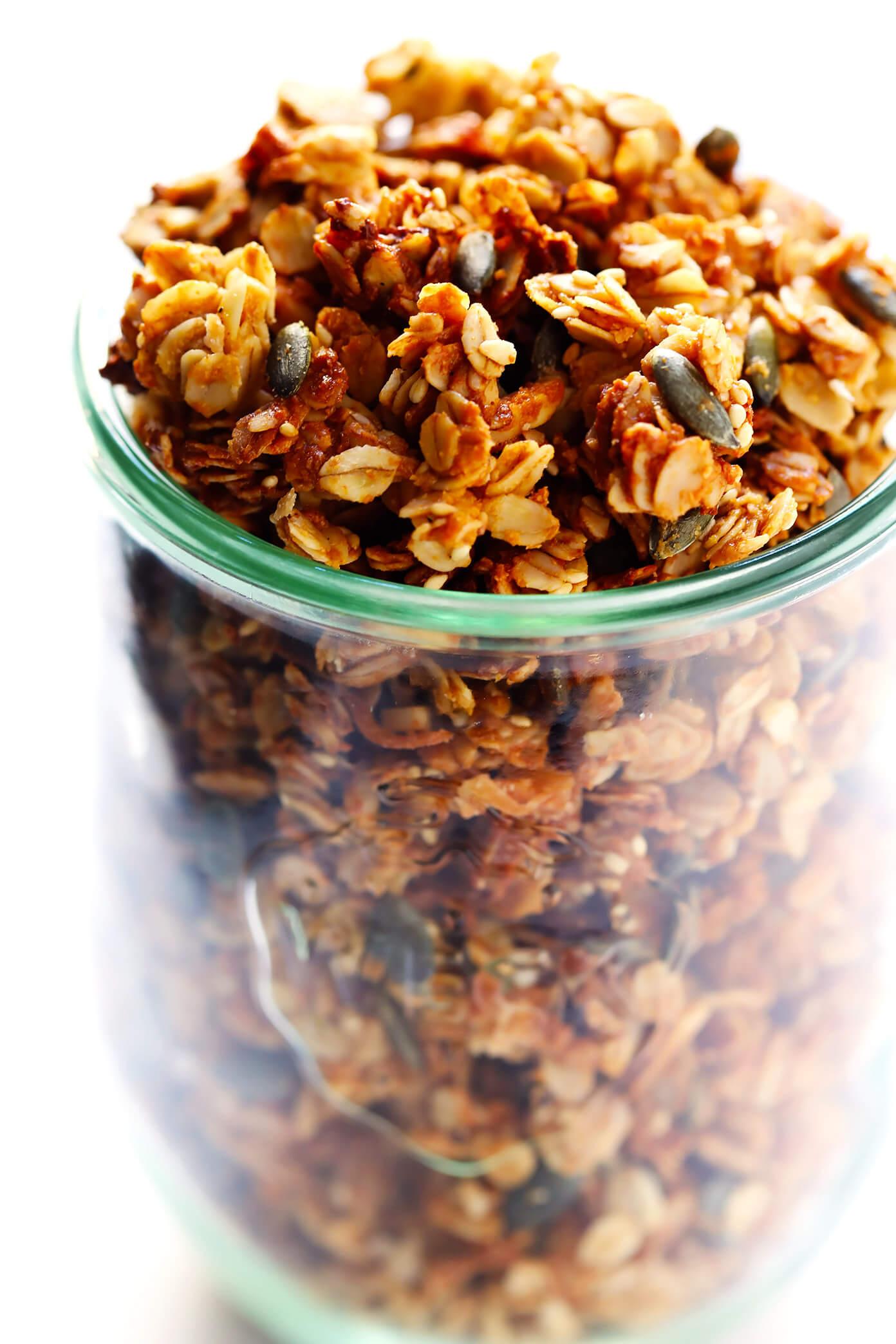 Tahini Granola Recipe