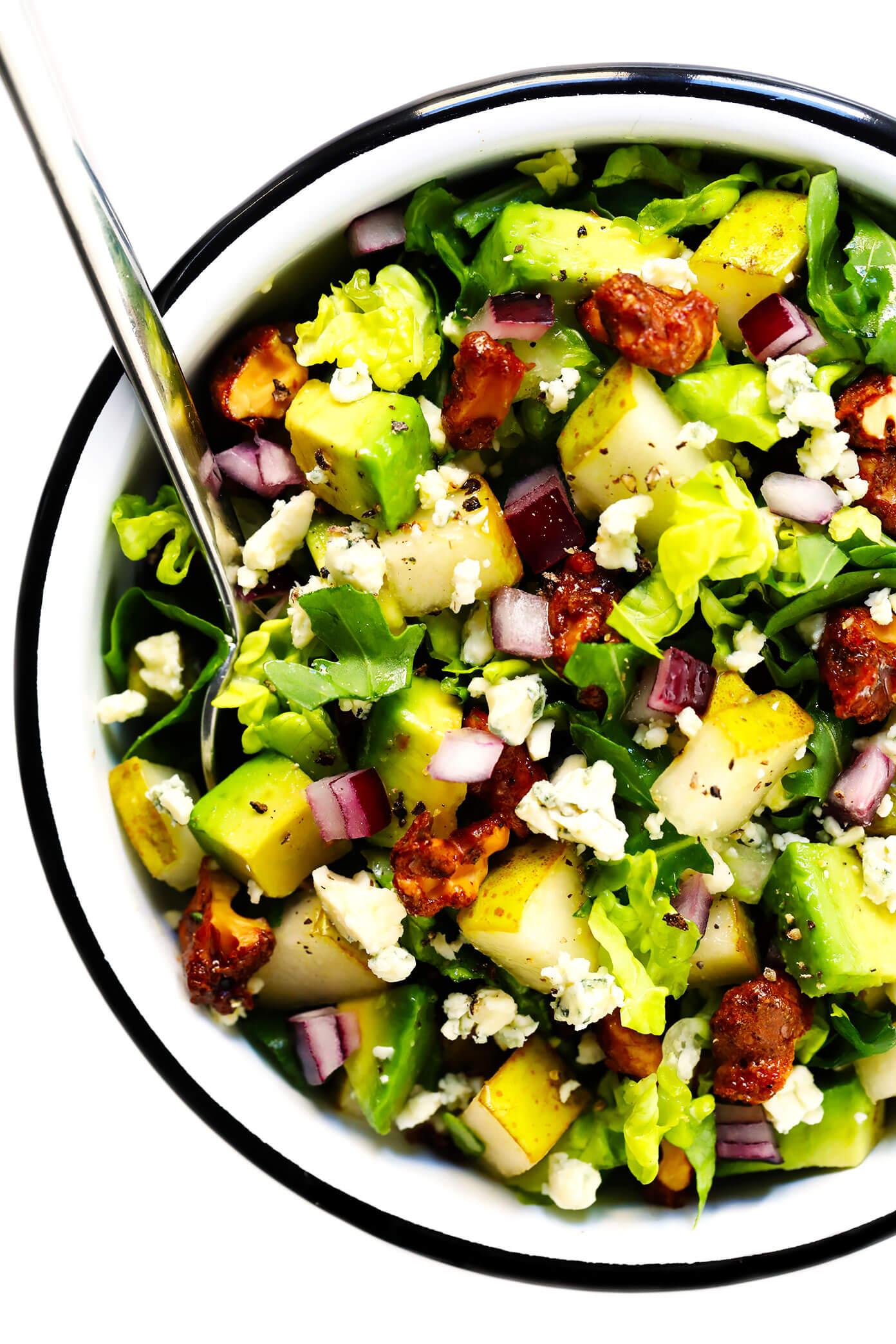 Pear and Gorgonzola Chopped Salad Recipe