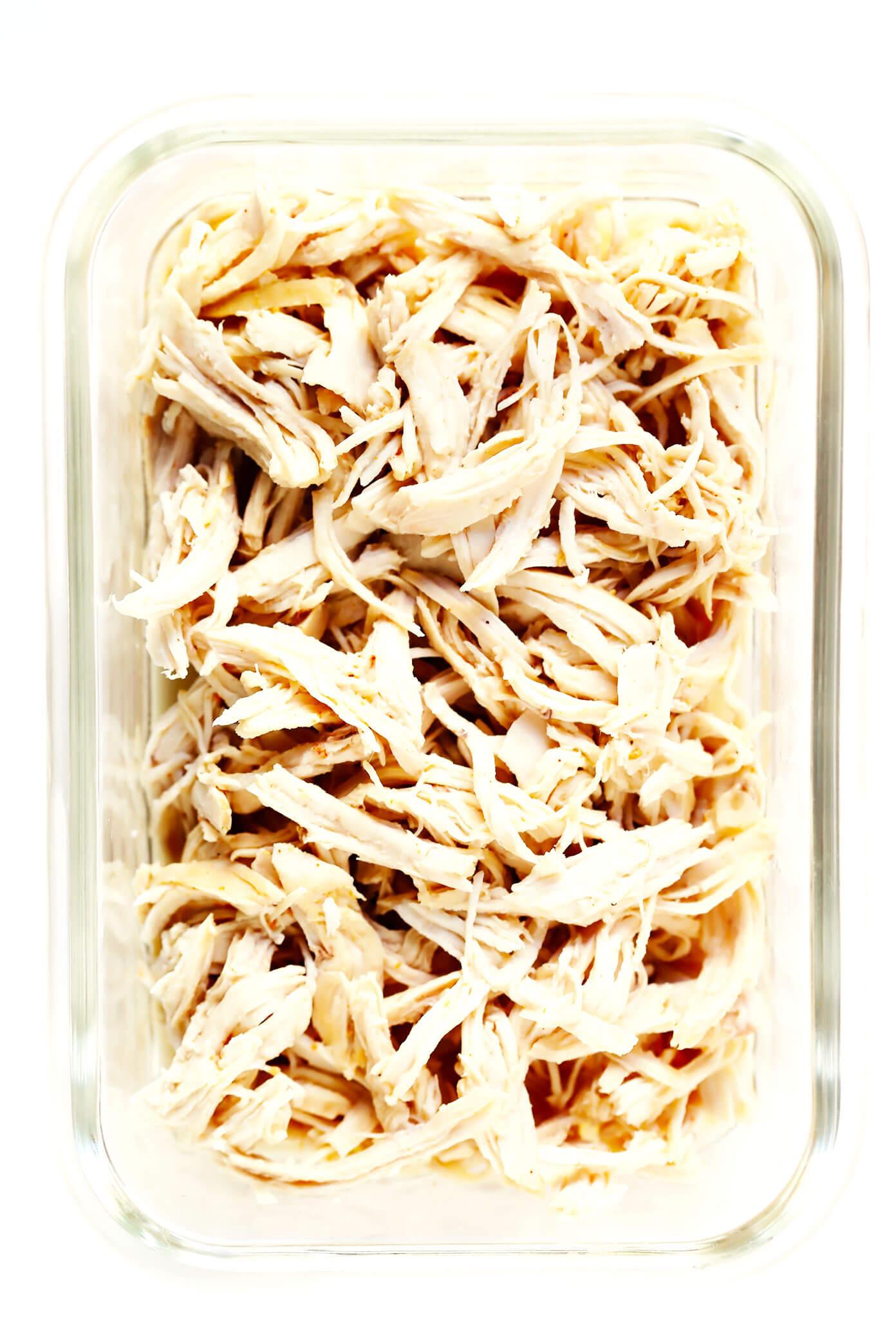 Instant Pot Shredded Chicken for Meal Prep