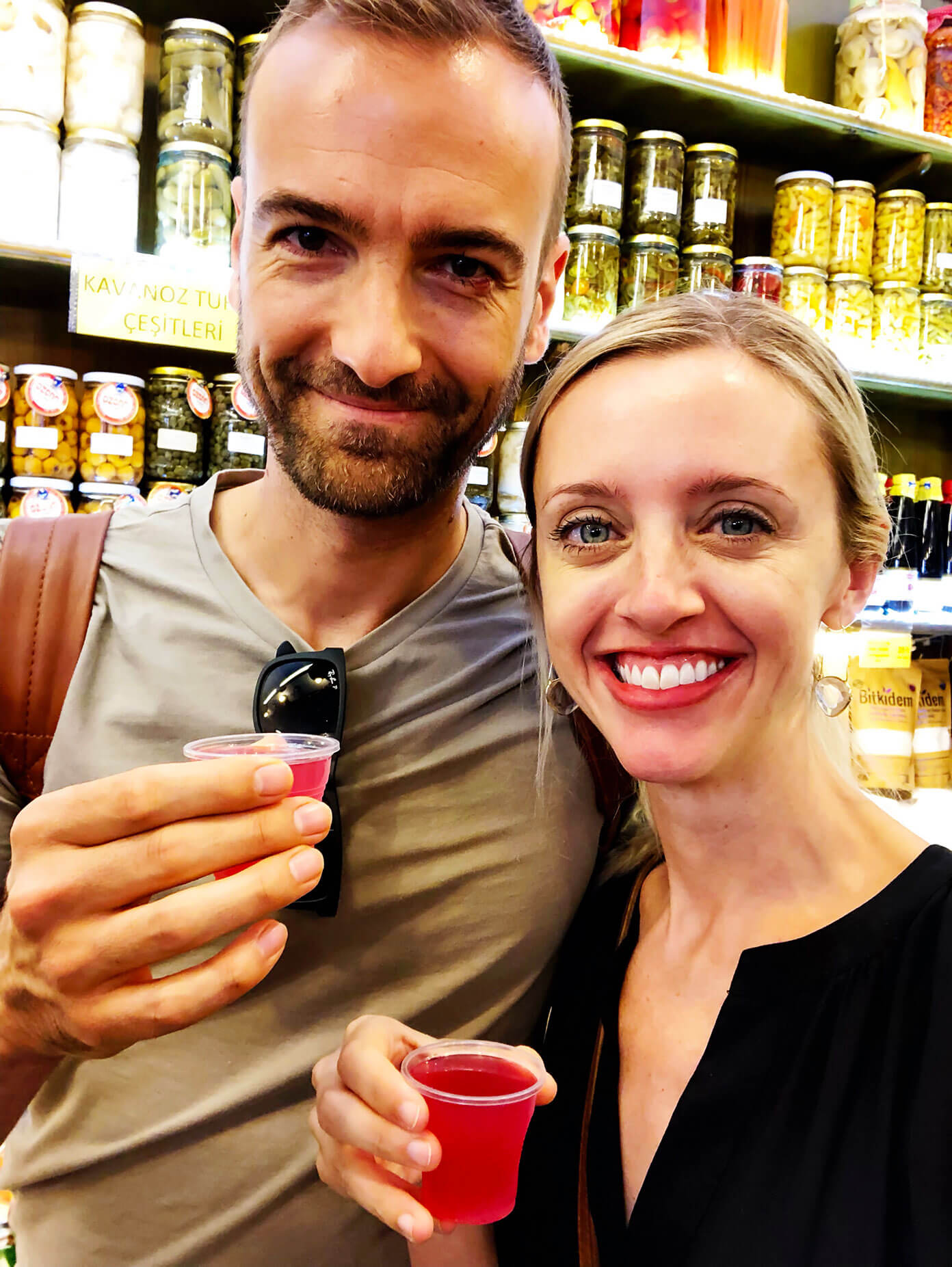 Pickle juice Istanbul