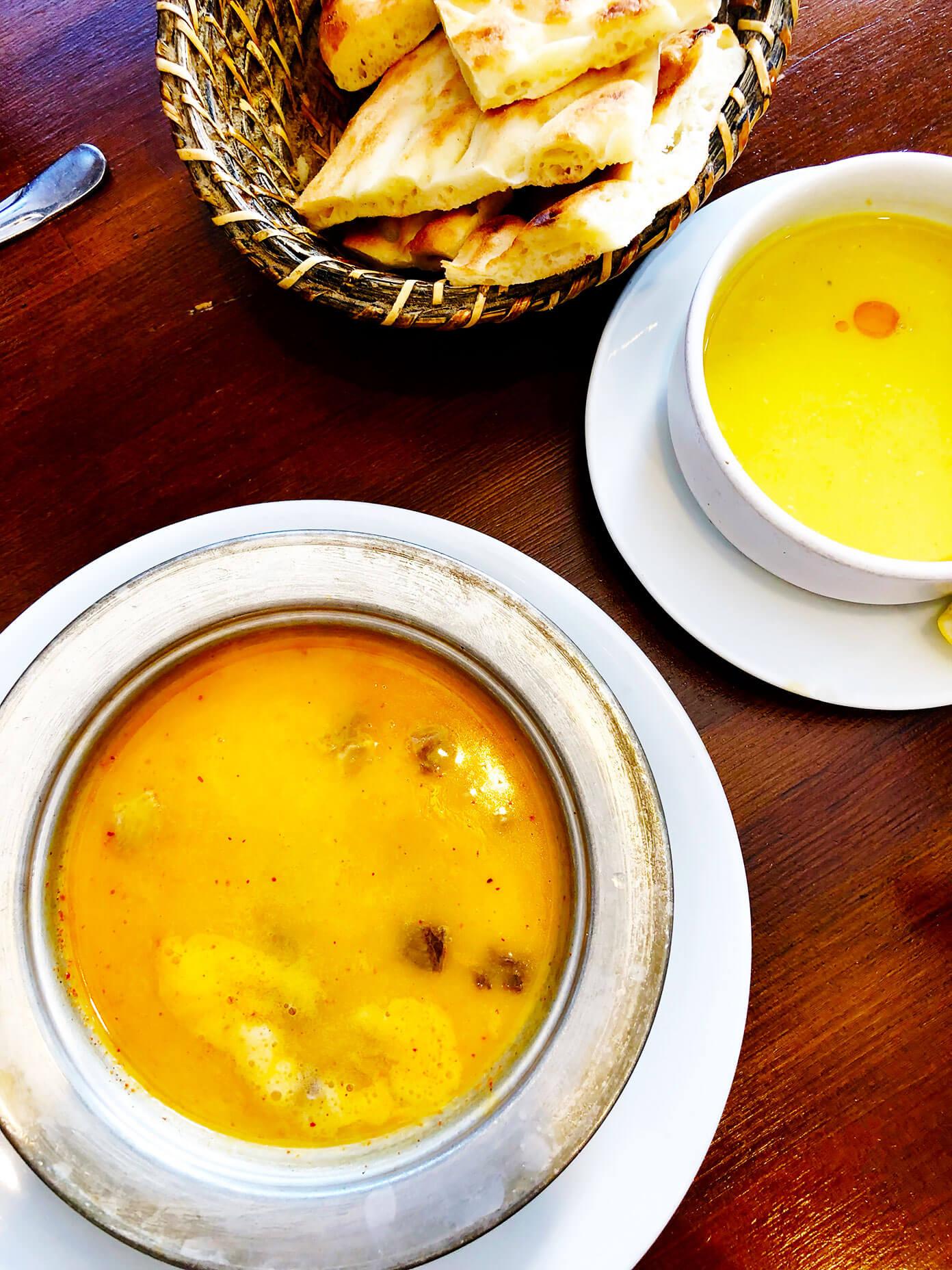 Lentil soup in Istanbul