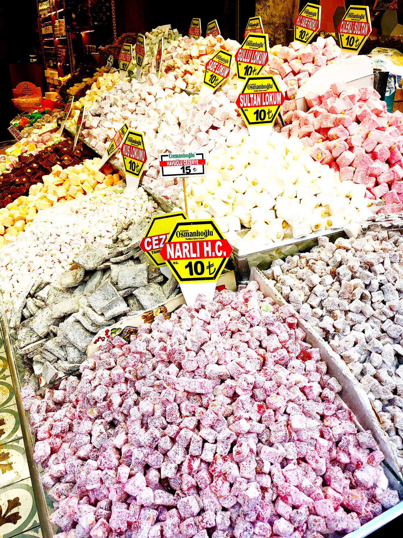 Turkish Delight Spice Market Istanbul