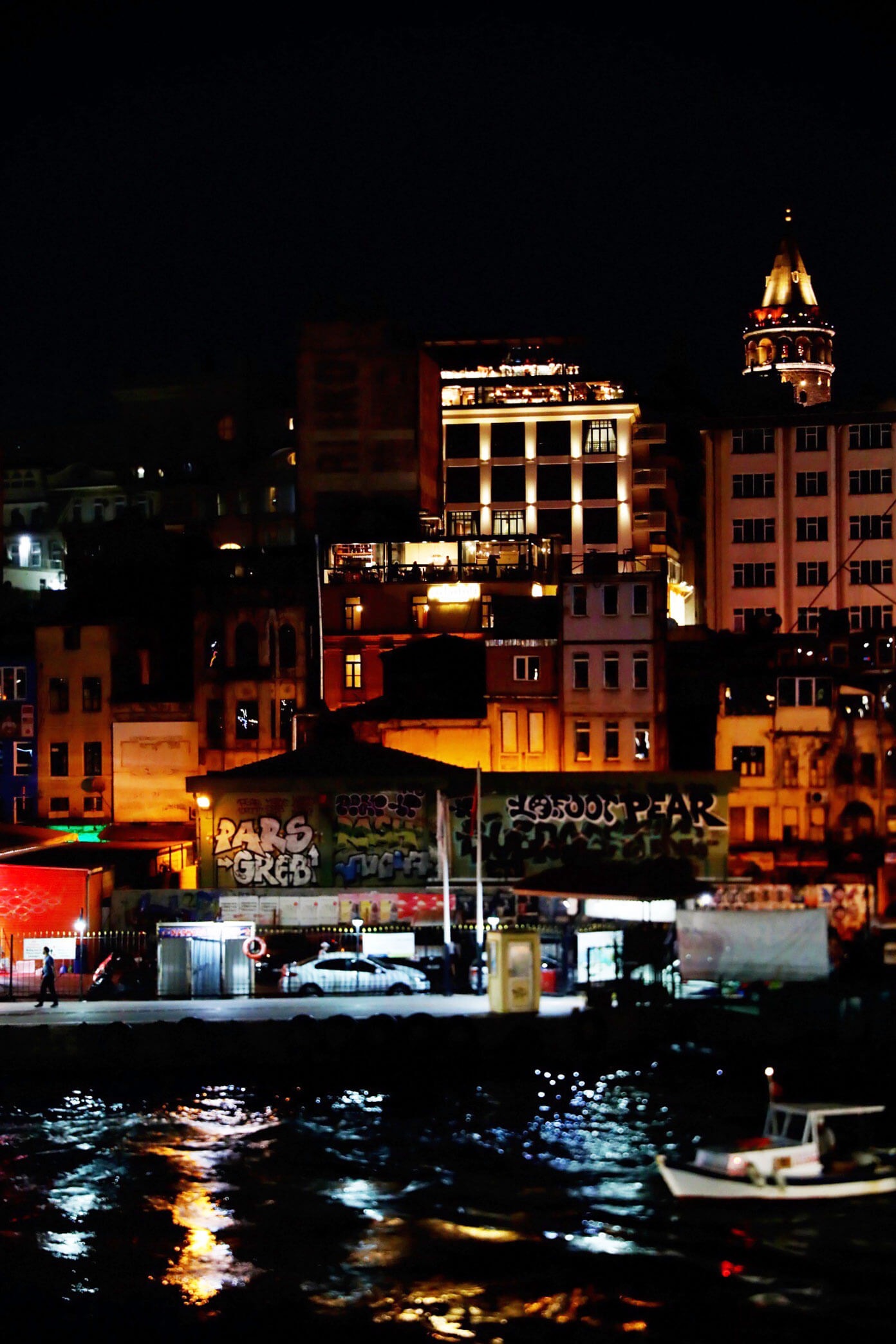Karakoy at Night