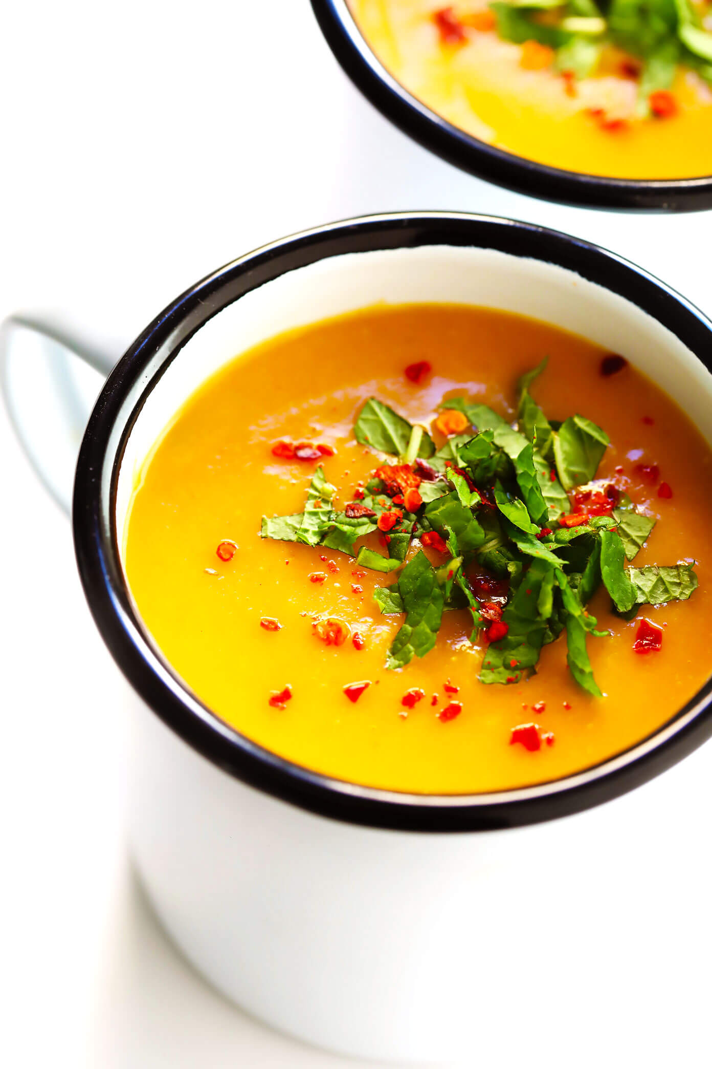 Turkish Lentil Soup with Aleppo and Mint