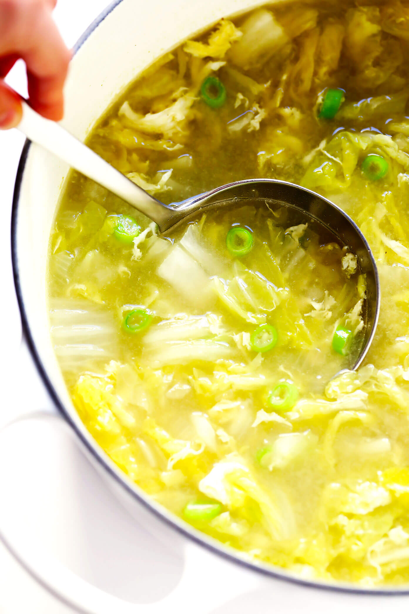 Egg Drop Soup Recipe with Cabbage